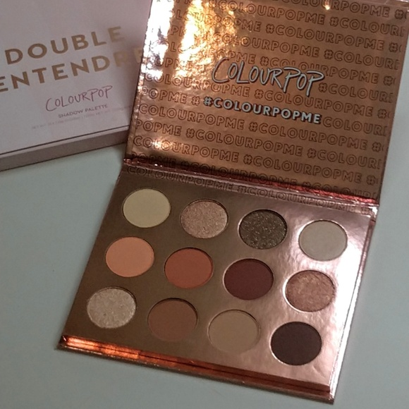 Colourpop Other - Colourpop. ~ Double Entendre palette